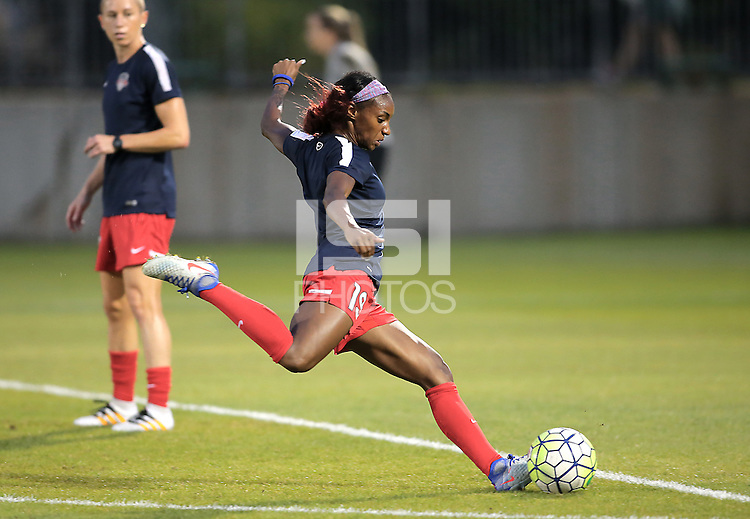 Boyds, MD - Wednesday Sept. 07, 2016: Crystal Dunn during a regular season National Women's Soccer League (NWSL) match between the Washington Spirit and the Seattle Reign FC at Maureen Hendricks Field, Maryland SoccerPlex.