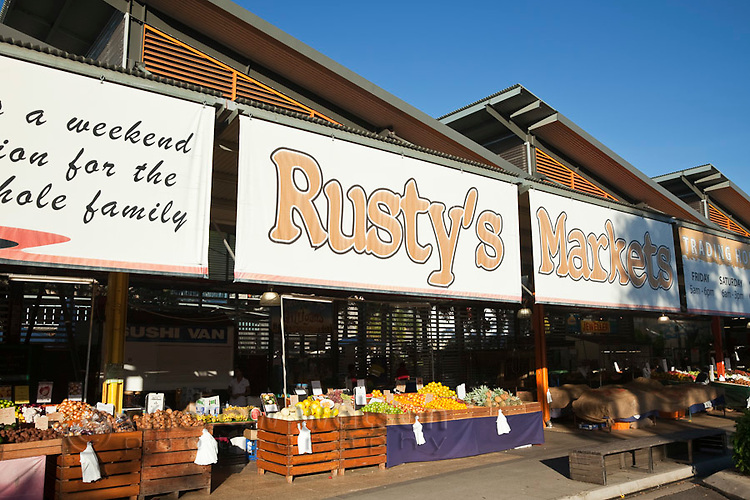 Rusty's Markets - local fruit and vegetable market in the city centre.  Cairns, Queensland, Australia