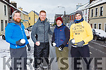 On Snow Patrol in Cahersiveen on Friday were Kevin O'Shea, Paul Clifford, Barry & Mike O'Shea.