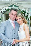 Jennifer Coffey Gallowsfield, Tralee daughter of Kevin and Martina and Eoin O'Connell Manor Close Tralee, son of Pat and Mary O'Connell who were married in the church of the Immaculate Conception Tralee on Saturday, Fr Fitzgerald officiated at the ceremony the reception was held in the Killarney Heights Hotel and the couple will reside in Tralee