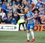 19.05.2019 Kilmarnock v Rangers: Chris Burke celebrates
