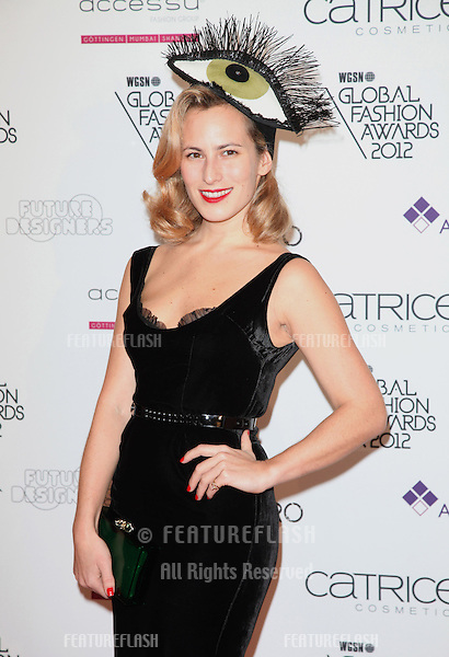 Charlotte Dellal arriving for the WGSN Global Fashion Awards at The Savoy Hotel, London. 05/11/2012 Picture by: Alexandra Glen / Featureflash