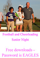 Guerin Football and Cheerleader Senior Night 2014