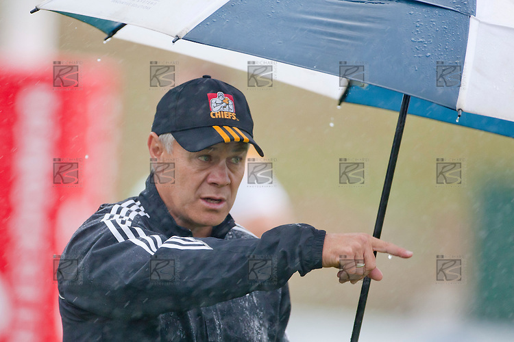 Chiefs Development XV coach Milton Haig. IRB Pacific Rugby Cup game played between the Chiefs Development XV and Tonga A at Bayer Growers Stadium, Pukekohe on Friday March 4th, 2011..The Chiefs Development XV won 50 - 13.