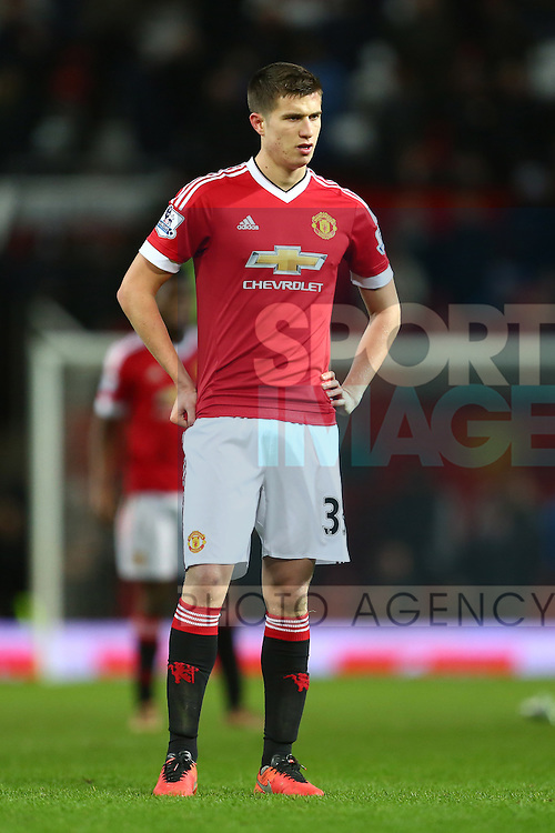 Patrick McNair of Manchester United - Barclay's Premier League - Manchester United vs Watford - Old Trafford - Manchester - 02/03/2016 Pic Philip Oldham/SportImage