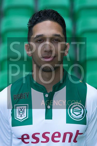 29-06-2015, Presentatiegids, eerste, team, seizoen, 2015-2016, 2015 - 2016, spelerfoto, speler, spelersfoto, Tom Hiariej of FC Groningen,