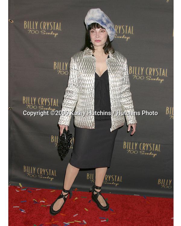 Toni Basil.Wilshire Theater.700 Sundays LA Play Opening.Los Angeles, CA.January 12, 2006.©2006 Kathy Hutchins / Hutchins Photo....