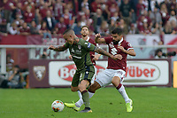 27th October 2019; Olympic Grande Torino Stadium, Turin, Piedmont, Italy; Serie A Football, Torino versus Cagliari; Tomas Rincon of Torino FC challenges Radja Nainggolan of Cagliari - Editorial Use