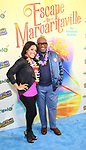 """Sheinelle Jones and Al Roker attending the Broadway Opening Night Performance of  """"Escape To Margaritaville"""" at The Marquis Theatre on March 15, 2018 in New York City."""