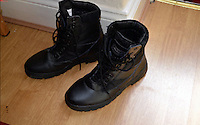 Pictured: Boots recovered from the house of Kristen Brekke<br />