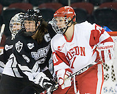 Colleen Martin (Providence - 5), Jonnie Bloemers (BU - 11) - The Boston University Terriers defeated the Providence College Friars 5-3 on Saturday, November 14, 2009, at Agganis Arena in Boston, Massachusetts.