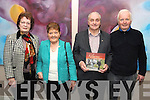 LAUNCH: Agnes Hegarty, Liz Cronin, Dan Lynch and John Sweeney pictured at the launch of the Kilgarvan Historical and Photographic Society book, Moments and Memories, on Saturday in the Kenmare Bay Hotel.