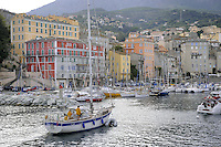 - Corsica, .Bastia, the ancient port ....- Corsica,  Bastia, il Porto Vecchio