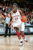 STANFORD, CA - JANUARY 6: Chiney Ogwumike  at Maples Pavilion, January 6, 2011 in Stanford, California.