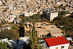 Judea, Hebron Mountain. The settlement in Tel Rumeida