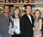 """Days Of Our Lives - Lauren Koslow, Drake Hogestyn, Melissa Reeves, meet the fans as they sign """"Days Of Our Lives Better Living"""" on September 27, 2013 at Books-A-Million in Nashville, Tennessee. (Photo by Sue Coflin/Max Photos)"""