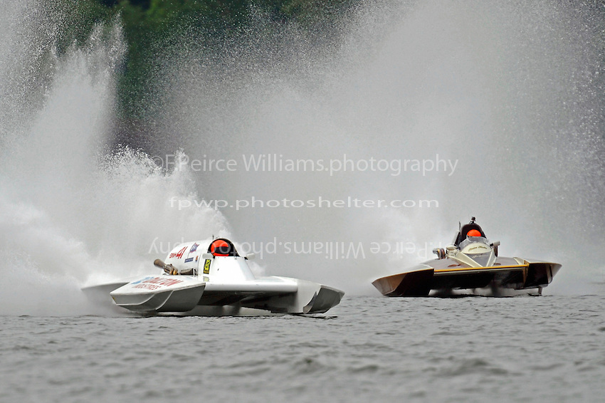 "Cal Phipps, GNH-41  and Steve Kuhr, GNH-317 ""The Irishman"" (Grand National Hydroplane(s)"