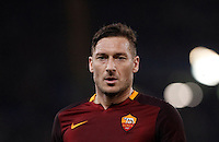 Calcio, Serie A: Roma vs Frosinone. Roma, stadio Olimpico, 30 gennaio 2016.<br /> Roma's Francesco Totti during the Italian Serie A football match between Roma and Frosinone at Rome's Olympic stadium, 30 January 2016.<br /> UPDATE IMAGES PRESS/Isabella Bonotto