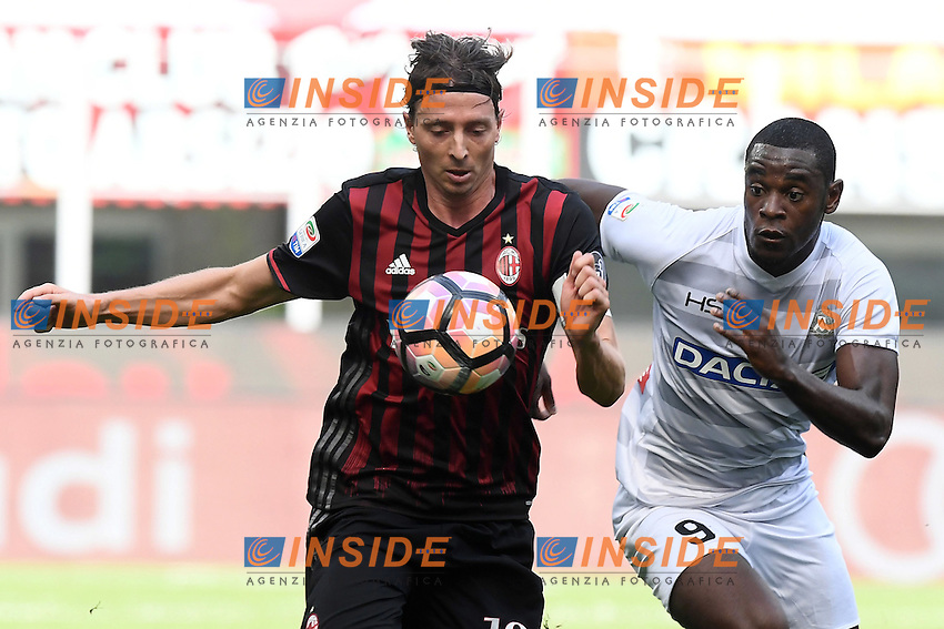 Riccardo Montolivo-Duvan Zapata<br /> Milano 11-09-2016 Stadio Giuseppe MeazzaFootball Calcio Serie A 2016/2017 Milan-Udinese. Foto Daniele Buffa / Image Sport / Insidefoto