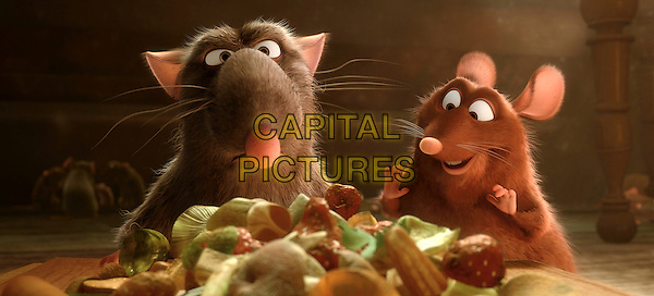 DJANGO (voie of Brian Dennehy) & EMILE (voice of PETER SOHN).in Ratatouille .**Editorial Use Only**.CAP/FB.Supplied by Capital Pictures