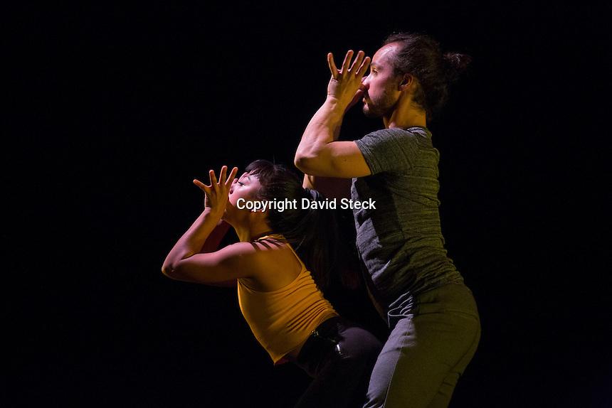 Quer&eacute;taro, Qro. 10 de Noviembre de 2016.- Este jueves la bailarina y core&oacute;grafa Irma Monterrubio present&oacute; tres obras de danza contempor&aacute;nea en el Teatro de la Ciudad.<br /> <br /> El evento que se seguir&aacute; presentando el viernes 11 y s&aacute;bado 12 de noviembre const&aacute; de coreograf&iacute;as de Alejandro Ch&aacute;vez, Irma Monterrubio y Laura Vera con participaciones de Irma Monterrubio, Geovanni P&eacute;rez, Tania Almaz&aacute;n y Daniel Alvarez. Las escenograf&iacute;as e iluminaci&oacute;n est&aacute;n a cargo de Fernando Flores con arreglos musicales y participaci&oacute;n en vivo de Rub&eacute;n Reyes.  <br /> <br /> Foto: David Steck