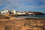 Small fishing village of Majanicho on the north coast, Fuerteventura, Canary Islands, Spain
