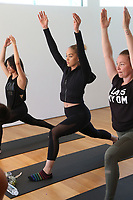 31 March 2017 - Beverly Hills, California - Jasmine Sanders. Draya Michele and Friends at AloYoga. Photo Credit: AdMedia
