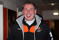 Blackpool's Goal Keeper coach Dave Timmins <br /> <br /> Photographer Rachel Holborn/CameraSport<br /> <br /> The EFL Checkatrade Trophy Group C - Blackpool v Accrington Stanley - Tuesday 13th November 2018 - Bloomfield Road - Blackpool<br />  <br /> World Copyright © 2018 CameraSport. All rights reserved. 43 Linden Ave. Countesthorpe. Leicester. England. LE8 5PG - Tel: +44 (0) 116 277 4147 - admin@camerasport.com - www.camerasport.com