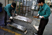 Privately owned metal works factory, producing parts for major foreign companies including Fuji Xerox, Panasonic, Black & Decker and DeWalt, both for Chinese market and for export (including UK, US and Japan).