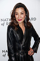 NEW YORK, NY - JANUARY 08: Michelle Yeoh at The National Board of Review Annual Awards Gala at Cipriani in New York City on January 8, 2019. <br /> CAP/MPI99<br /> ©MPI99/Capital Pictures