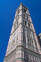 Italien, Toskana, Florenz, Dom,  Campanile, Unesco-Weltkulturerbe