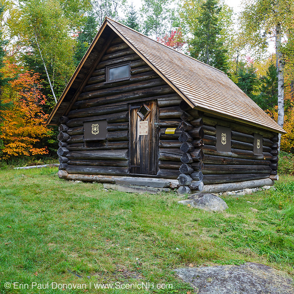 This photo represents September in the 2018 White Mountains New Hampshire calendar. The Fabyan Guard Station along the old Jefferson Turnpike in Carroll, New Hampshire. You can purchase a copy of the calendar here: http://bit.ly/2rND4Kf