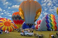 Hot air balloon; festival; Albuquerque; New Mexico; USA