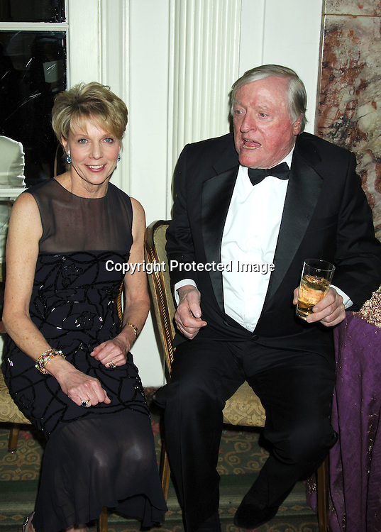 Honorees Cathie Black and William F Buckley, Jr ..at The Magazine Publishers of America and American Society of Magazine Editors  Awards Dinner on January 25, 2006 at The Waldorf Astoria Hotel. ..Photo by Robin Platzer, Twin Images