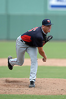 Minnesota Twins pitcher C.K. Irby (75) during an Instructional League game against the Boston Red Sox on September 26, 2014 at jetBlue Park at Fenway South in Fort Myers, Florida.  (Mike Janes/Four Seam Images)