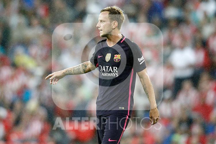FC Barcelona's Ivan Rakitic during La Liga match. August 28,2016. (ALTERPHOTOS/Acero)
