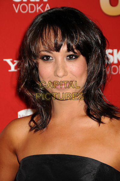 CHERYL BURKE.US Weekly's Hot Hollywood Party 2009 held at Voyeur, West Hollywood, California, USA..November 18th, 2009.headshot portrait black strapless .CAP/ADM/BP.©Byron Purvis/AdMedia/Capital Pictures.