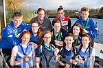 The Killorglin rowers who were successful at the Neptune Commercial regatta in Dublin over the weekend front row l-r: Hanna Joy, Anna tyther, Maria Treacy, Alanna Dolan. back row: sean Houlihan, Molly O'Grady, Rhiannon O'Donoghue, Marie O'Connor and Michael O'Connor
