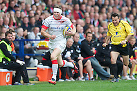 Chris Ashton of Saracens in action during the Aviva Premiership match between Harlequins and Saracens at the Twickenham Stoop on Sunday 30th September 2012 (Photo by Rob Munro)