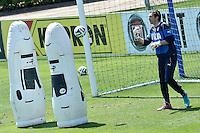 Gianluigi Buffon <br /> Coverciano ( Firenze ) 21-05-2014 Football Calcio Allenamento nazionale italiana in vista dei campionati del mondo di calcio Brasile 2014. Training Italy. Foto Andrea Staccioli / Insidefoto