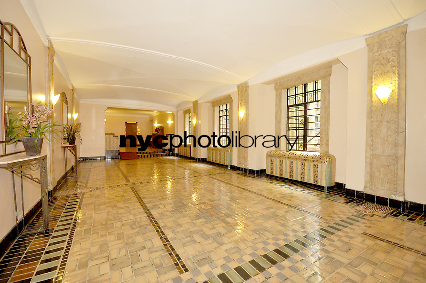 Lobby at 444 Central Park West