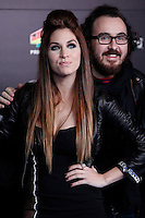 Leire Martinez attends 40 Principales awards photocall  2012 at Palacio de los Deportes in Madrid, Spain. January 24, 2013. (ALTERPHOTOS/Caro Marin) /NortePhoto