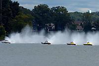 "John Shaw, E-54 ""White Trash"", Kent Henderson, H-777 ""Steeler"", Patrick Haworth, H-79 ""Bad Influence"", Brandon Kennedy, H-300 ""Pennzoil""    (H350 Hydro) (5 Litre class hydroplane(s)"