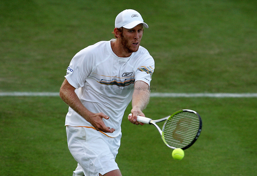 Photo: Paul Thomas..Wimbledon Championships. 26/06/2007..Chris Guccione (AUS) during his match with Alex Bogdanovic (GBR).