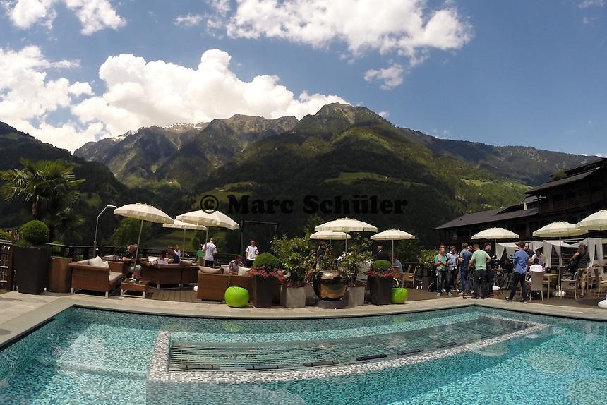 Golf-Hotel Andreus, Teamhotel der Nationalmannschaft - Media Day der Deutschen Nationalmannschaft zur WM-Vorbereitung in St. Martin