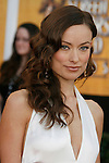 LOS ANGELES, CA. - January 25: Actress Olivia Wilde arrives at the 15th Annual Screen Actors Guild Awards held at the Shrine Auditorium on January 25, 2009 in Los Angeles, California.