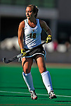 24 October 2008: University of Vermont Catamounts' midfielder/defenseman Lauren Burke, a Senior from Mahopac, NY, in action against the Hofstra University Pride at Moulton Winder Field, in Burlington, Vermont. The Catamounts shut out the visiting Pride 3-0...Mandatory Photo Credit: Ed Wolfstein Photo