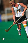 24 October 2008: University of Vermont Catamounts' forward/midfielder Emily Bastiaanse, a Freshman from Granby, CT, in action against the Hofstra University Pride at Moulton Winder Field, in Burlington, Vermont. The Catamounts shut out the visiting Pride 3-0...Mandatory Photo Credit: Ed Wolfstein Photo