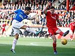 03.03.2019 Aberdeen v Rangers: Daniel Candeias and Scott McKenna