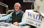"WATERBURY,  CT-122916JS02--WATR's Larry Rifkin prepares for his show at the radio station on Thursday. Rifkin, who has hosted ""Talk of the Town"" for seven years, will be stepping away from the show. He will still be at WATR. <br /> Jim Shannon Republican-American"